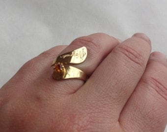 "November Birthstone Ring ""Citrine"""