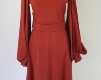 Ronald Amey  of New York Petal Sleeve Dress