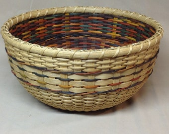 Digital Download, Instructions to Weave the Confetti Double Wall Bowl, Pattern