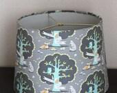 Children's Modern Forest Large Drum Lamp Shade