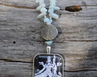 Frigg, Allmother Necklace (Asatru Heathen Viking Norse Frigga)
