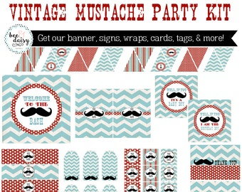 Mustache Birthday, Mustache Baby Shower, Mustache Baby Shower Decorations, Mustache Birthday Decorations, Mustache Party Decorations