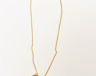 Spike Gold Necklace