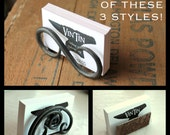 BEST SELLER!!  Great Gift Idea Hand Forged Iron Business Card Holder (choose from 3 different styles) by VinTin
