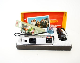 Kodak Pocket Instamatic 20 110 Camera +  New Color Film