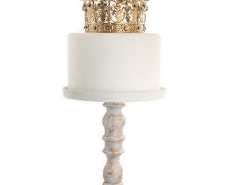 Gold Crown Cake Topper, Wedding Cake, Gold Crown, Small Crown, Princess Cake, Rhinestone Crown, Star Crown