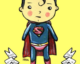 Adorable Superman Print