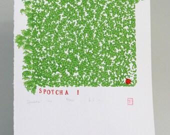 Spotcha - Original Print