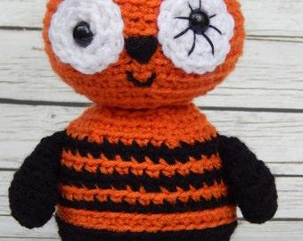Amigurumi Halloween Pumpkin Goblin