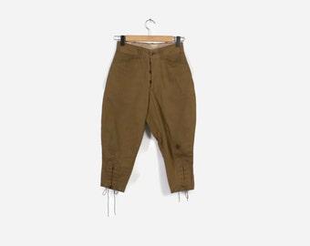 Vintage 40s KNICKERS / 1930s-40s BSA Boy Scout Uniform Breeches XS