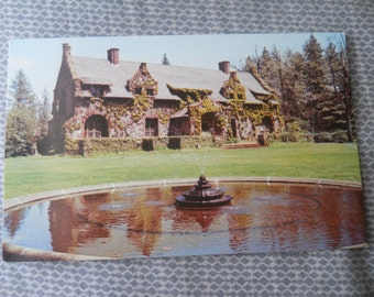 The Mansion at Empire Mine State Historic Park, Grass Valley, California Vintage Postcard