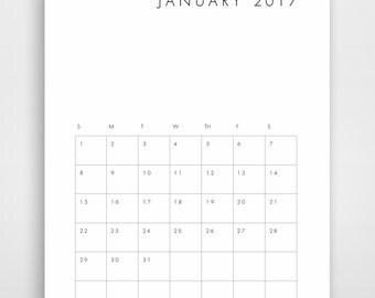 Printable Calendar 2017 Printable 2017 Calendar Calendar