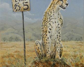 8 X 10 Original Acrylic Painting on Canvas