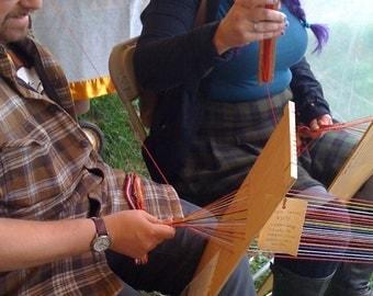 Weave Like it's 1699 - Rigid Heddle Tape Loom - with Warp