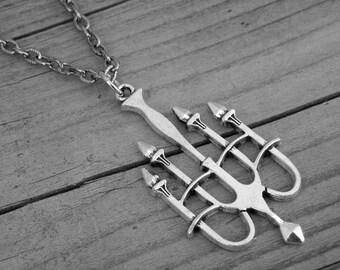Gothic Chandelier Necklace Silver Chandelier Jewelry Victorian Goth Haunted Mansion Candelabra Gothic