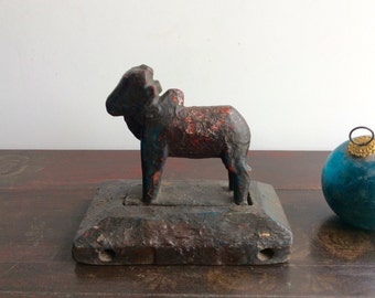 Folk Art Toy India Style Nandi Shipping Included in the U.S.