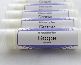 All Natural Lip Balm - Grape