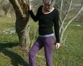 Organic Clothing Yoga Pants Organic Cotton Kate Hudson Lululemon Active Wear Sport Fashion Womens Runner Beach Dancer Zumba Made to Order