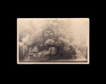 1920s Post Mortem Photo of Pastor // Death