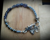 Iolite Bracelet - Intention Bracelet.