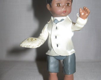 Madame Alexander Collectibles African American Wedding Ring Bearer 1950