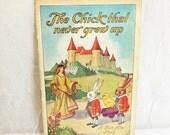The Chick That Never Grew Up - Bon Ami - 1926 - vintage ephemera, advertising