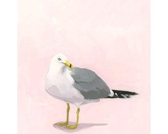 "8x10"" print - bird art - ""Seagull 15"""