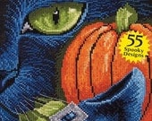 10% 0ff Pre-Order 2016 Halloween cross stitch patterns magazine : Just Cross Stitch Collectors Issue SHIPS End of July