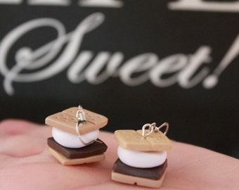 Polymer Clay Smores Earrings