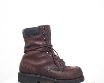 7.5 D | Men's Lehigh Steel Toe Work Boots