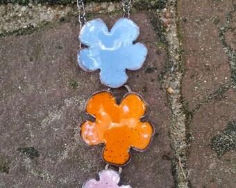 Triple Flower Dangle