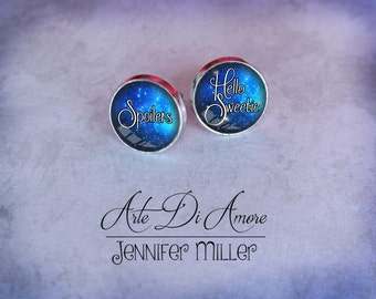 River Song Dangle or Stud Earrings