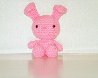Sweet Bunny - Light Pink Crochet Bunny