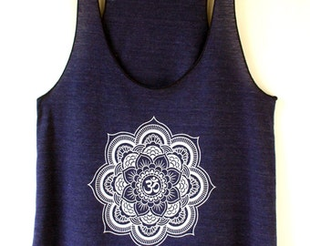 Mandala Tank Top Yoga Top