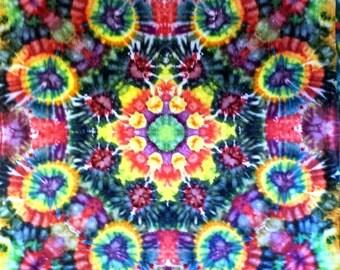 Tie Dye Tapestry Psychedelic Art Hippie Art
