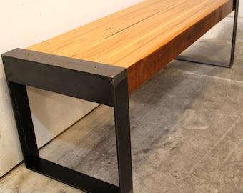 WesternDrift Reclaimed Wood Bench