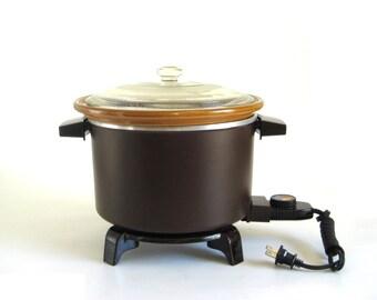 Dazey Chef's Pot DCP6 Deep Fryer Slow Cooker