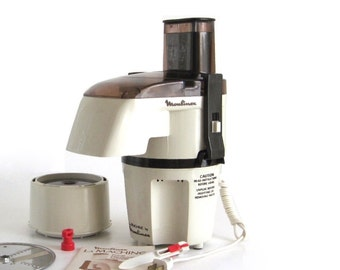"Moulinex La Machine Food Processor 356 1970s Kitchen Appliance (see ""Item Details"")"