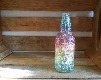 Clear Rainbow Dottle