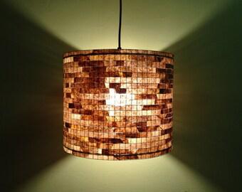 Chandelier Pendant Light Coffee Filter Art Lampada