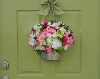 Spring Wreath - Door Wreath - Door Wreath - Door Decor