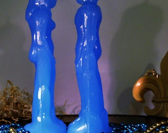 Male/Man Figural Candle - Louisiana Swamp, Inexplicable Things, Bayou Botanica, Traditional Candle