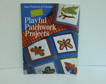 Quilt Book - Playful Patchwork Projects - Quilting Destash Supplies - Keri Pearson And Friends - K.P. Kids And Co - Christmas Projects  Etc.