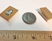 Miniature Vintage Book / Shakespeare / Tiny Book with real blank pages / 1:6 scale mini book / playscale / one sixth scale for Barbie