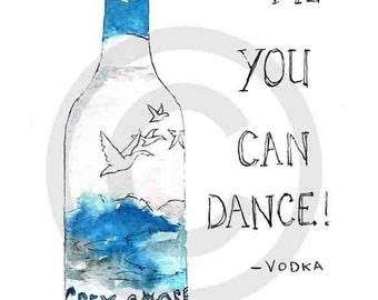Grey goose -vodka card by Sarah Majury