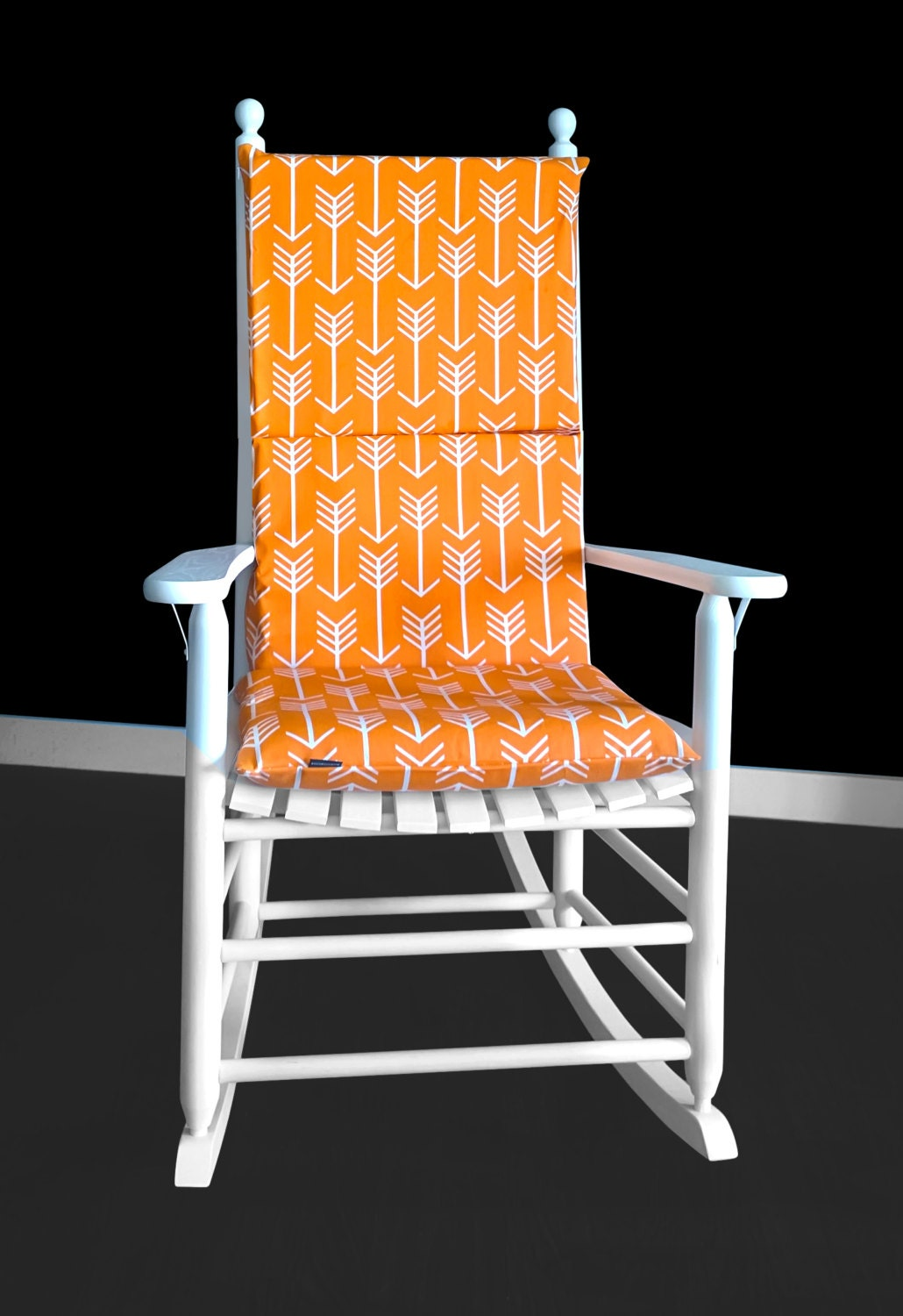 Foam Inserts And Covers For Rocking Chair Arrow Print Rocking