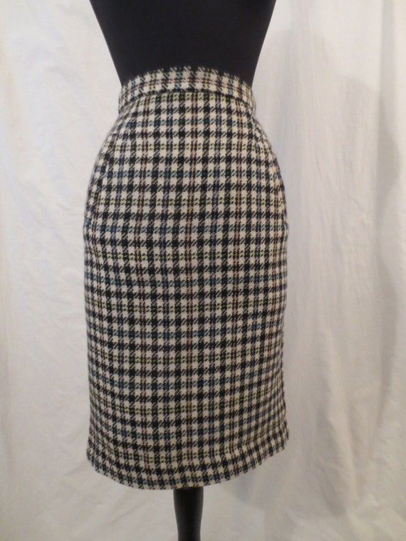 pastel pencil skirt esprit made in italy mohair wool wiggle