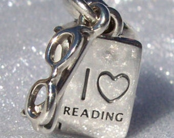 PANDORA Love Reading Charm FREE SHIPPING