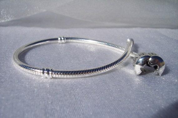 Sterling Silver Pandora Like Bracelet