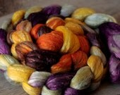 Fiber Roving 5.5 oz - 50/50 Merino/Silk - Bimplestitch Wonkpatch